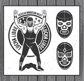 Lucha Libre Royalty Free Stock Photography
