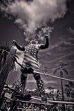 Lucha Libre Wrestler in der alten Stadt San Diego, Kalifornien, USA Stockfotos