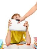 Lucha para la tableta Foto de archivo libre de regalías