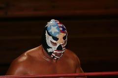 Luchador del WWF el patriota Fotos de archivo libres de regalías