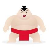 Luchador lindo del sumo Imagen de archivo