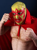 Luchador portrait Royalty Free Stock Photos