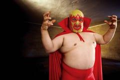 Luchador posing Stock Image
