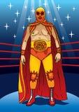 Luchador profesional Stock de ilustración