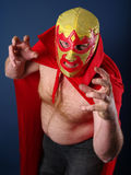 Luchador about to attack Royalty Free Stock Photo