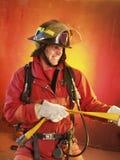 Luchar el fuego. fotos de archivo