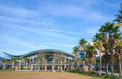 Luchs-Hauptbahnhof, Luchs-Autobusstation, Orlando Florida Lizenzfreie Stockfotos