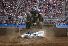 Lucht 2 van de Vrachtwagen van het monster Stock Foto
