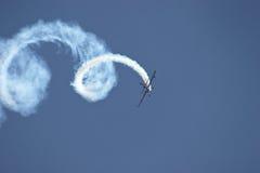 Lucht Acrobatiek Stock Foto's
