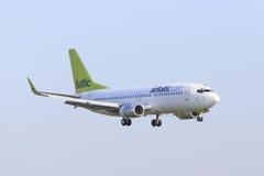 Lucht Baltisch Boeing 737 Stock Foto