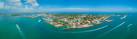 Lucht de voorraadbeeld van panoramakey west Florida royalty-vrije stock afbeeldingen
