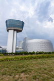 Lucht en Ruimtemuseum, Dulles stock afbeelding