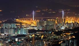 Lucht fotografie in Hongkong Stock Foto