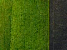 Lucht groen gebied royalty-vrije stock afbeeldingen