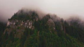 Lucht4k onderstel, wolken stock footage