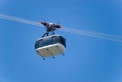 Lucht kabelwagen Royalty-vrije Stock Foto's