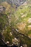 Lucht landschap van Cyprus Royalty-vrije Stock Afbeelding