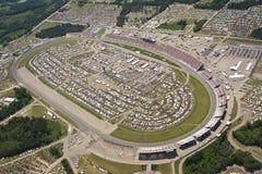 Lucht Mening NASCAR Lifelock 400 Stock Fotografie