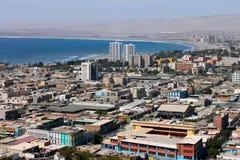 Cityscape van Arica Stock Afbeeldingen