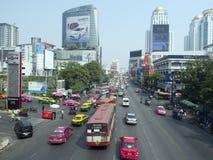 Lucht mening van Bangkok Royalty-vrije Stock Afbeelding
