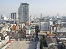 Lucht mening van Bangkok Stock Foto's