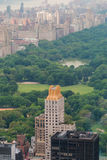 Lucht Mening van Central Park Royalty-vrije Stock Foto