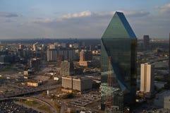 Lucht mening van Dallas Royalty-vrije Stock Afbeelding
