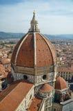 Lucht mening van de Kathedraal van Florence royalty-vrije stock fotografie