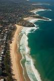 Lucht mening van de kust van Sydney Royalty-vrije Stock Foto