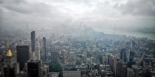 Lucht mening van de Stad van New York royalty-vrije stock foto's