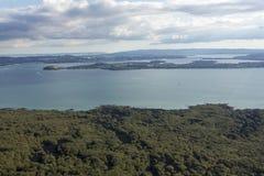 De Stad van Auckland stock afbeeldingen