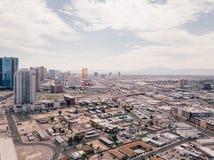 Lucht mening van de strook van Las Vegas Stock Foto's