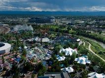 Lucht mening van Denver Royalty-vrije Stock Foto