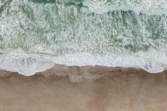 Lucht mening van een strand Stock Foto
