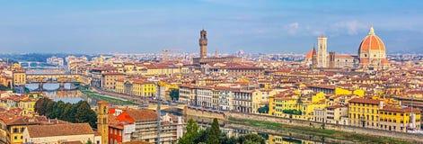 Lucht Mening van Florence stock afbeeldingen