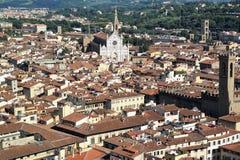 Lucht mening van Florence, Italië Stock Fotografie