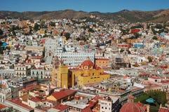 Lucht Mening van Guanajuato Royalty-vrije Stock Foto