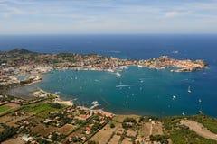 De haven van Elba eiland-Portoferraio Royalty-vrije Stock Foto's
