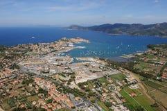 De haven van Elba eiland-Portoferraio Stock Foto
