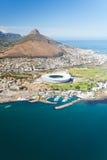 Lucht mening van Kaapstad stock foto