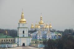 Lucht mening van Kiev Stock Foto