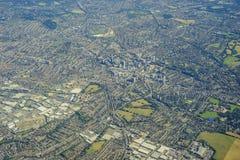 Lucht Mening van Londen Royalty-vrije Stock Foto