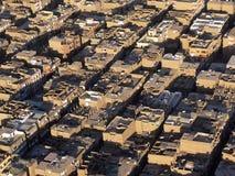 Lucht Mening van Luxor Stock Afbeeldingen