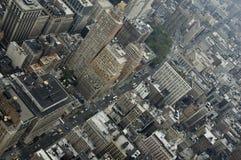 Lucht mening van Manhattan Royalty-vrije Stock Afbeelding