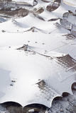 Lucht Mening van Moderne Architectuur stock fotografie
