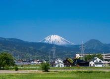 Lucht mening van MT fuji royalty-vrije stock fotografie