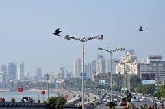 Lucht Mening van Mumbai Stock Afbeelding