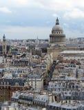 Lucht mening van Parijs Stock Foto