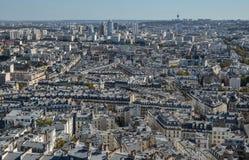 Lucht mening van Parijs, Frankrijk stock foto