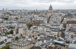 Lucht mening van Parijs, Frankrijk royalty-vrije stock fotografie